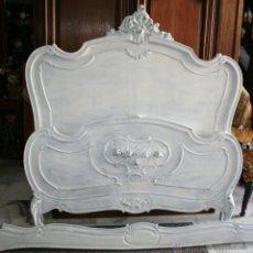 Antigüedades: CAMA LUIS XV, DE 1900, DECAPÉ. REF.5699. Lote 43452687