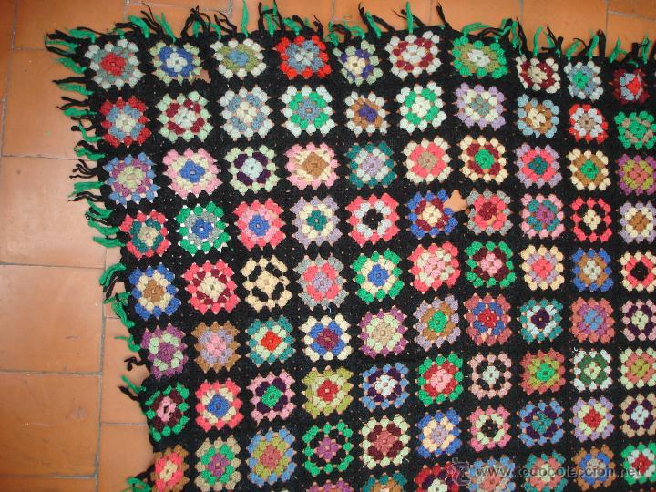 Colcha De Ganchillo A Cuadros De Colores 220 Verkauft Durch