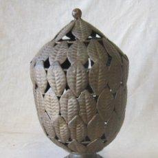 Antigüedades: FAROL DE METAL. Lote 43463135