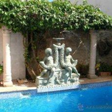 Antigüedades: FUENTE DE BRONCHE ANTIGUA, ESTILO BAROK . Lote 43468005