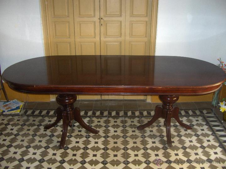 mesa ovalada comedor o para reuniones 2,20 de l - Kaufen Antike ...