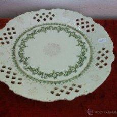 Antigüedades: BANDEJA ANTIGUA EN PORCELANA DE LIMOGES SIGLO XIX. Lote 43503338