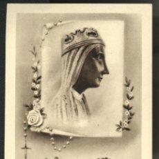 Antigüedades: ESTAMPITA DE SANTA MARIA DE MONTSERRAT. Lote 43516141