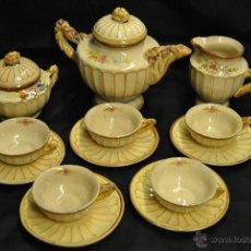 Antigüedades: JUEGO DE CAFE O TE DE LOS AÑOS 40. Lote 43516608