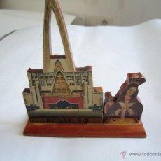 Antigüedades: REPRODUCCIÓN EN MADERA DE LA BASÍLICA EN HIGUEY. REPÚBLICA DOMINICANA. Lote 43522058