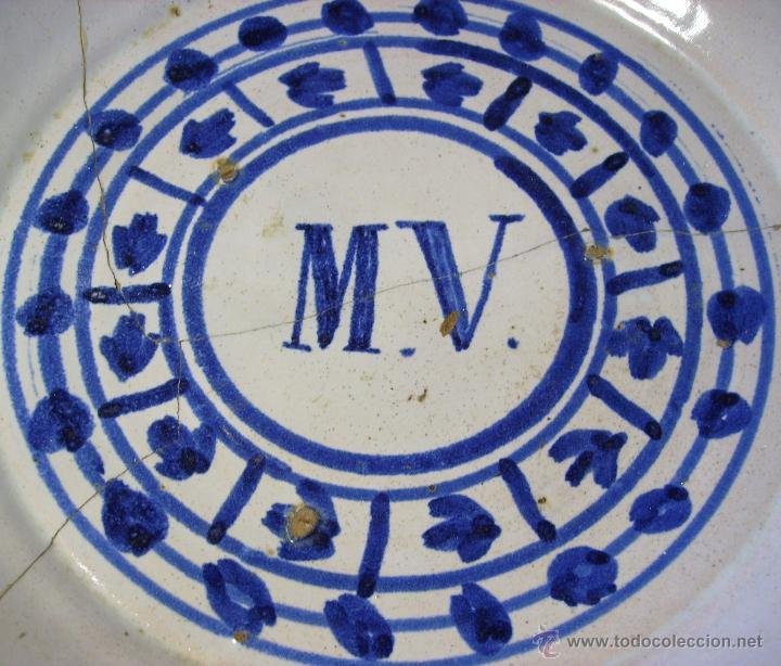 Antigüedades: GRAN PLATO ARAGONES DE MUEL XIX - Foto 6 - 43523055
