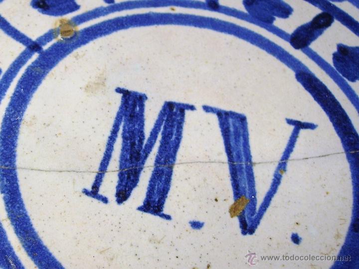 Antigüedades: GRAN PLATO ARAGONES DE MUEL XIX - Foto 7 - 43523055