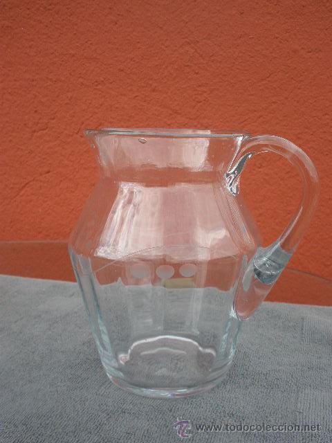 ANTIGUA JARRA DE CRISTAL (Antigüedades - Cristal y Vidrio - Otros)