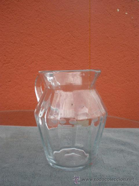 Antigüedades: ANTIGUA JARRA DE CRISTAL - Foto 2 - 43555176
