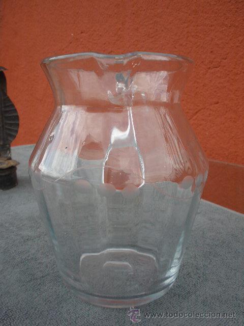 Antigüedades: ANTIGUA JARRA DE CRISTAL - Foto 4 - 43555176