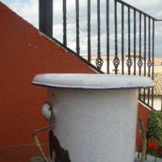 Antigüedades: ORINAL Ó DON PEDRO, DE METAL, ESMALTADO EN BLANCO.. Lote 43555405