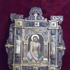 Antigüedades: ORIGINAL OBRA DE ARTE (OLEO, PLATA, TALLAS EN HUESO, HIERRO, ETC). Lote 43580897