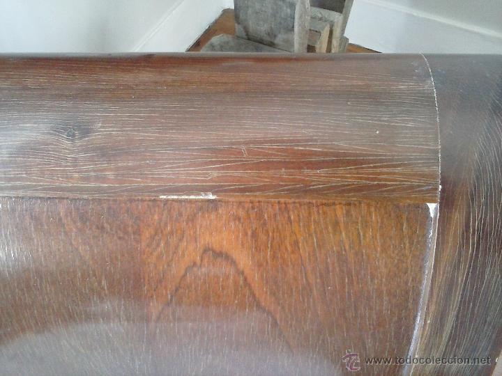 Antigüedades: Precioso y antiguo sofá de madera - Foto 4 - 37614088