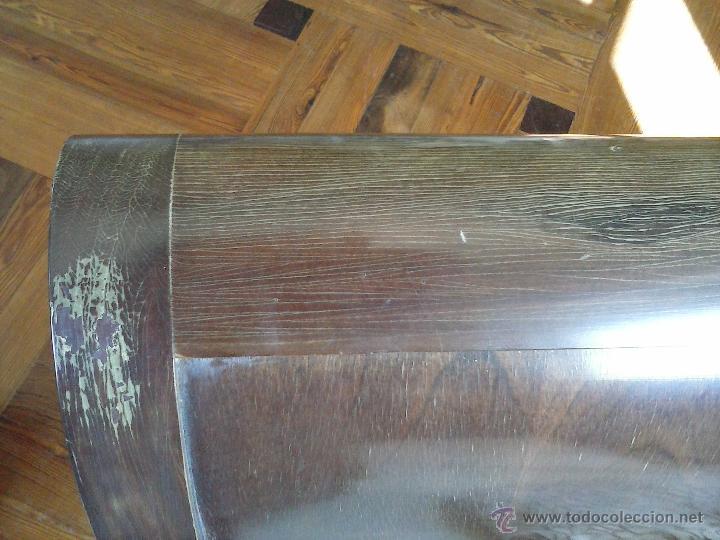 Antigüedades: Precioso y antiguo sofá de madera - Foto 5 - 37614088