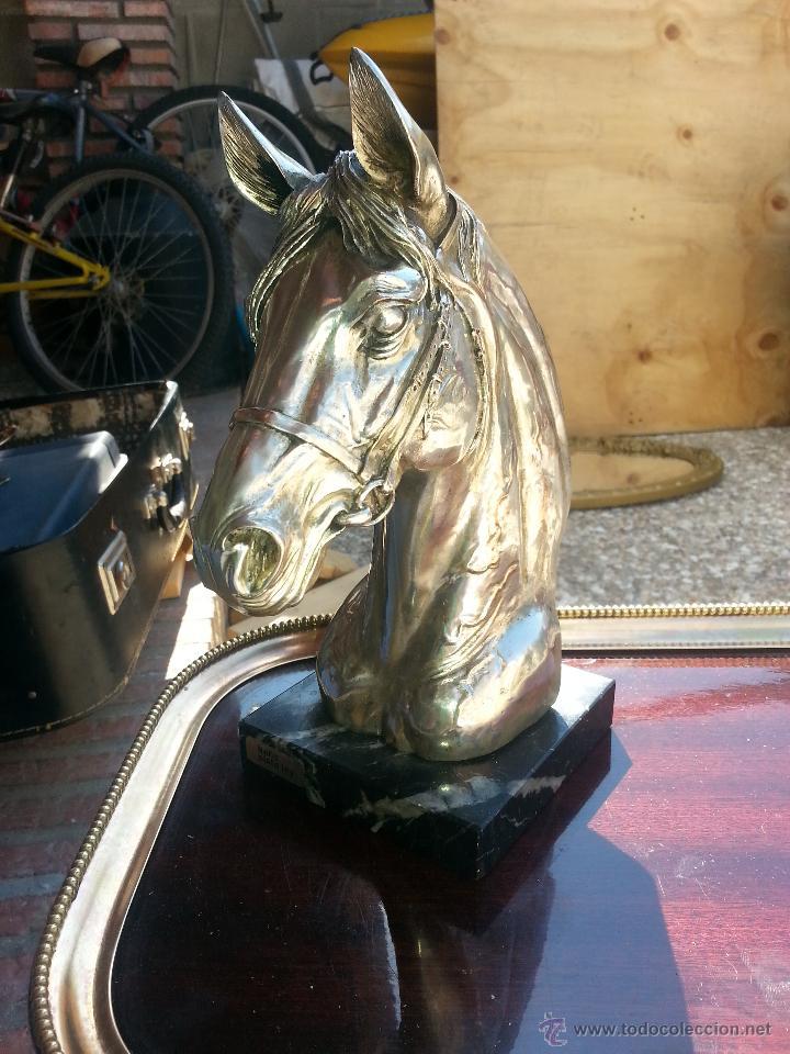 Antigüedades: cabeza de caballo leer - Foto 2 - 43616327
