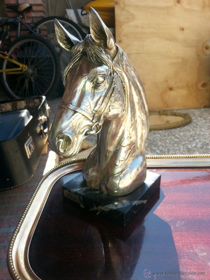 Antigüedades: cabeza de caballo leer - Foto 3 - 43616327