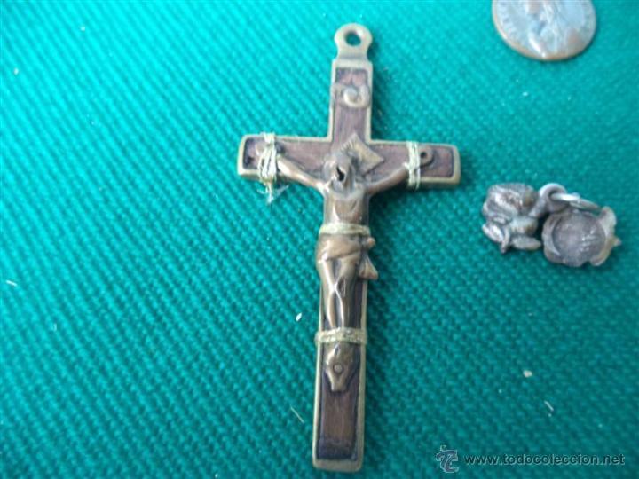 Antigüedades: lote de medallas religiosas - Foto 2 - 43624126