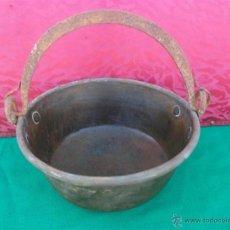 Antigüedades: PEROLA DE COBRE. Lote 43626677