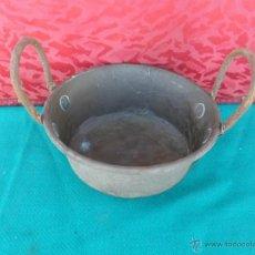 Antigüedades: CAZUELA DE COBRE. Lote 43627156