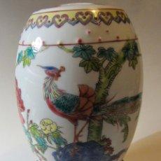Antigüedades: BOTE DE PORCELANA CHINA MEDIADOS DEL SIGLO XX. Lote 43637442