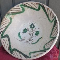 Antiguidades: ANTIGUO LEBRILLO DE TERUEL. SIGLO XVIII - XIX. BUEN ESTADO. Lote 43644821