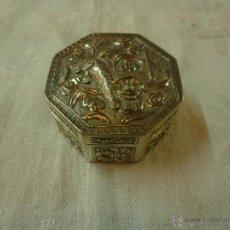 Antigüedades: CAJA DE PLATA . Lote 43649752