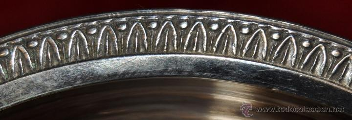 Antigüedades: PRECIOSA PALMATORIA EN PLATA DE LEY DEL SIGLO XIX DE LOS ORFEBRES ROSSELL Y VERDAGUER - Foto 4 - 43659051