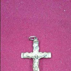 Antigüedades: CRUZ DE BRONCE ANTIGUA. Lote 43659418