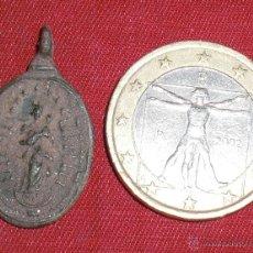 Antigüedades: MEDALLA VIRGEN INMACULADA SIGLO XVIII. Lote 43662583