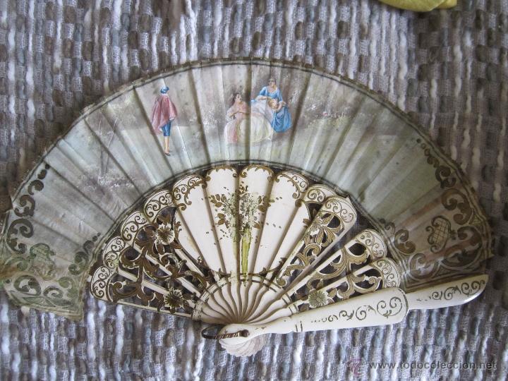 Antigüedades: Antiguo Abanico - Foto 2 - 43668104