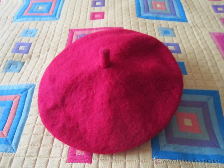 BOINA MUJER (Antigüedades - Moda - Sombreros Antiguos)