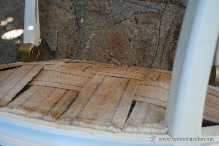 Antigüedades: antiguo conjunto de sillones - Foto 10 - 43707262