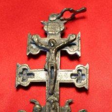 Antigüedades: GRAN CRUZ CARAVACA S.XVIII. Lote 43723933