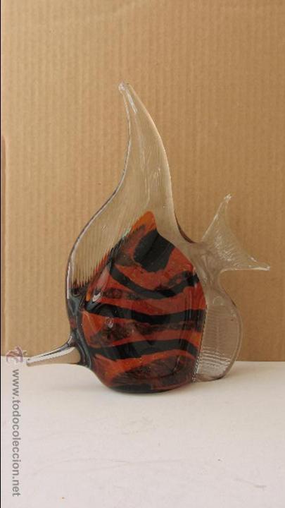 PEZ DE CRISTAL DE MURANO (Antigüedades - Cristal y Vidrio - Murano)