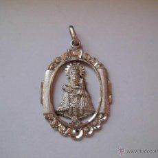Antigüedades: MEDALLA DE PLATA VIRGEN DE COVADONGA . Lote 43732005