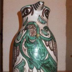 Antigüedades: JARRA TERUEL PUNTER ALCON SIGUIENDO MODELO MUDEJAR .JEFATURA PROVINCIAL TRAFICO. Lote 43740809