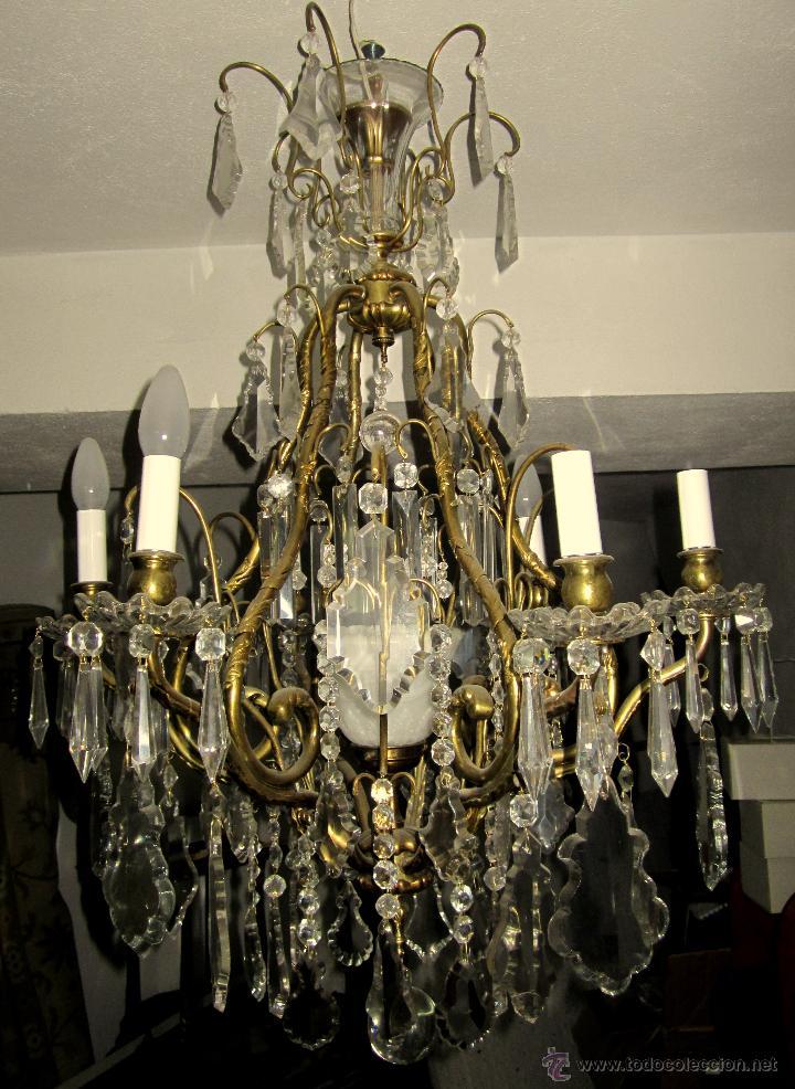 BUENISI9MA LAMPARA DE TECHO (Antigüedades - Iluminación - Lámparas Antiguas)