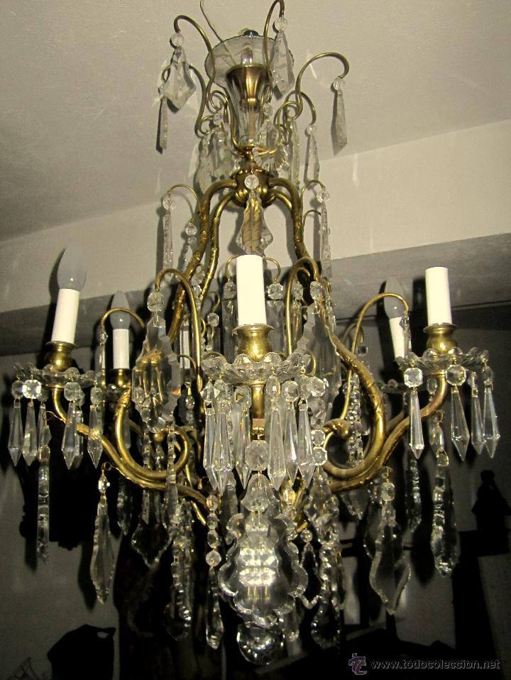 Antigüedades: BUENISI9MA LAMPARA DE TECHO - Foto 2 - 43743329