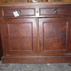 Antigüedades: MUEBLE BAJO NOGAL SIGLO XX-102. Lote 43778837