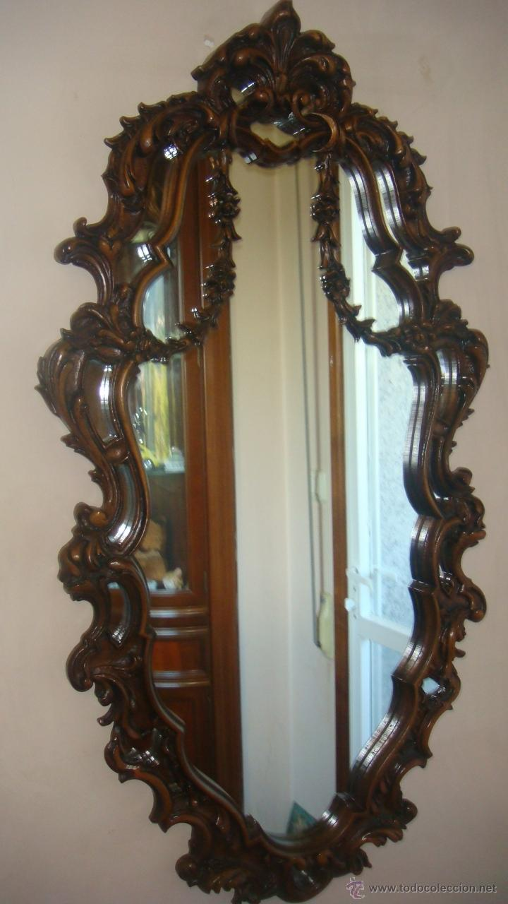 Marcos Espejos Antiguos. Awesome Th Century Rococo Carved Giltwood ...