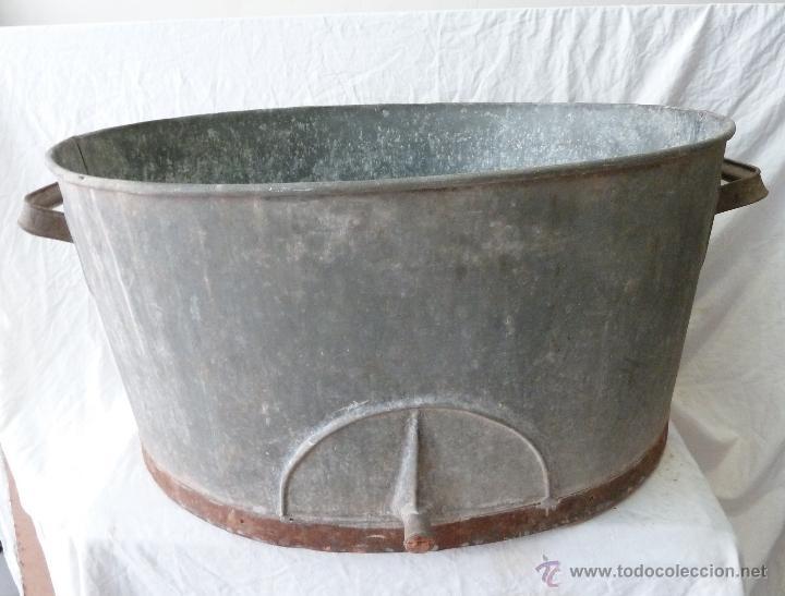 Gran balde barre o ba era lavadero ovalad comprar for Baneras antiguas precios