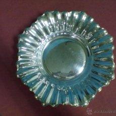 Antigüedades: BANDEJA PANERA PLATA. Lote 43804850