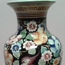 Antigüedades - JARRON PINTADO A MANO - 43807659