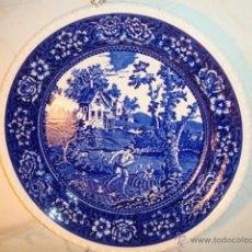 Antigüedades: INTERESANTE Y DECORATIVO PLATO DE PORCELANA SELLADO VILLEROY & BOCH LOT175. Lote 43821625