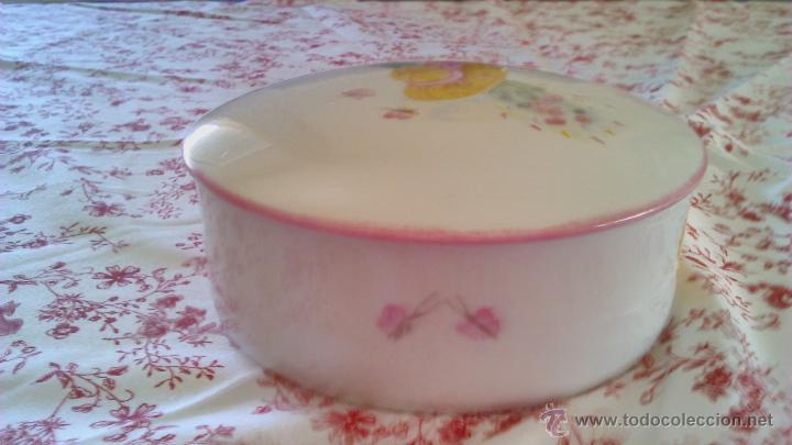 Antigüedades: Precioso Joyero de porcelana Limoges France.Pintado a mano por Elit 96 - Foto 4 - 43823165