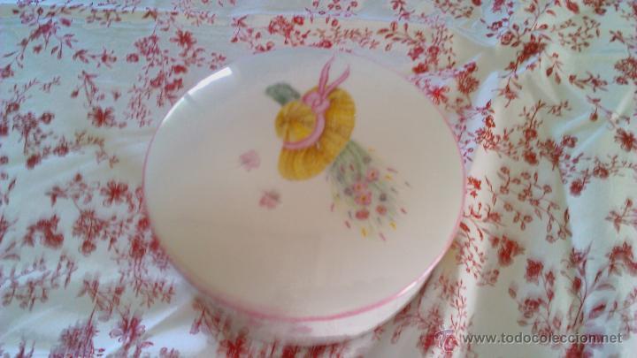 Antigüedades: Precioso Joyero de porcelana Limoges France.Pintado a mano por Elit 96 - Foto 5 - 43823165
