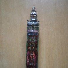 Antigüedades: GIRALDA DE CERÁMICA DE REFLEJOS.. Lote 43828118