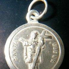 Antigüedades: MEDALLA SANTA ELENA EN PLATA DE LEY - 20MM. Lote 101124783