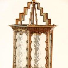 Antigüedades: FAROL DE BRONCE AÑOS 20. Lote 43852907