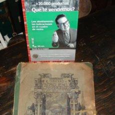 Antigüedades: ANTIGUO LIBRO FOTOGRABADOS ARTE FUNERARIO ITALIANO CIMITEROS- C.CRUDO & CO - CIRCA 1920 LEER. Lote 43874801